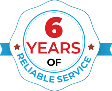 6 Years of Reliable Service