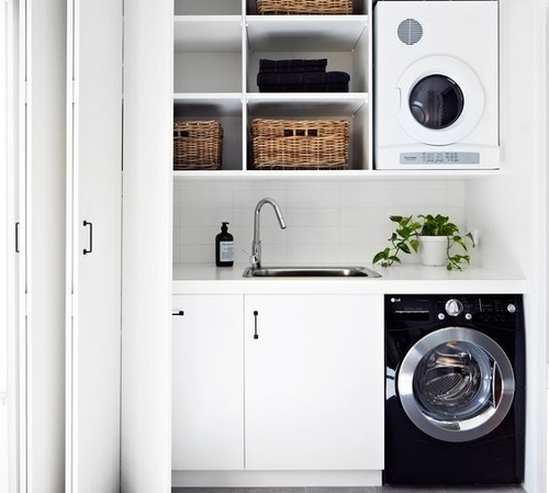 Laundry Renovation in Franklin