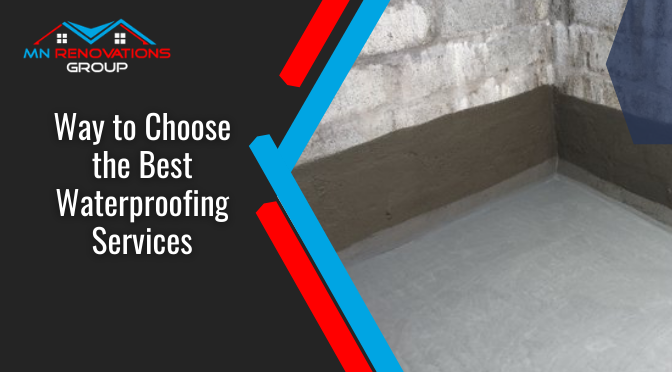 Ways to Choose the Best Waterproofing Services in Canberra